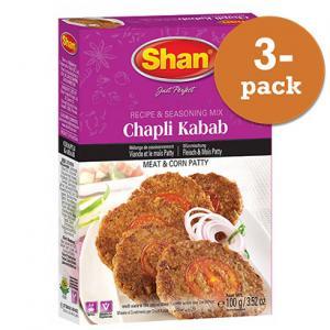 Chapli Kebab 3x100g Shan