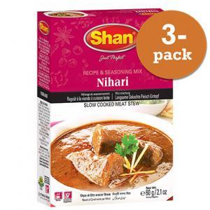 Nihari Curry 3x50g Shan