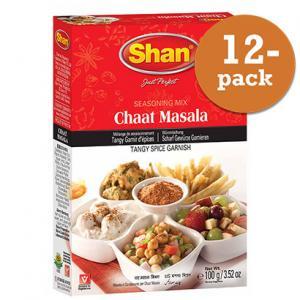 Chaat Masala 12x60g Shan