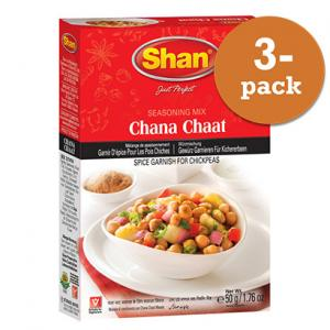 Chana Chaat Masala 3x50g Shan