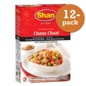Chana Chaat Masala 12x50g Shan