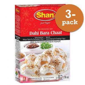 Dahi Bara Chaat 3x50g Shan