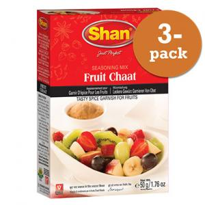 Fruit Chaat 3x50g Shan