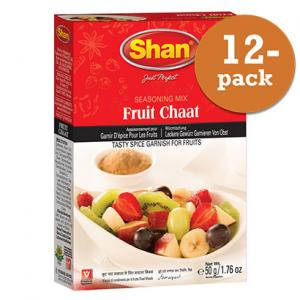 Fruit Chaat 12x50g Shan