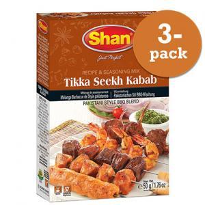 Tikka Seekh Kebab 3x50g Shan