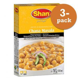 Chana Masala 3x100g Shan