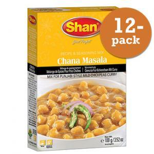 Chana Masala 12x100g Shan
