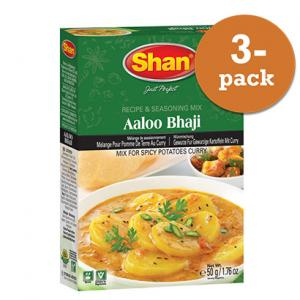 Aloo Bhaji 3x50g Shan