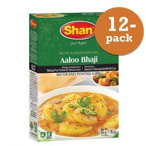 Aloo Bhaji 12x50g Shan