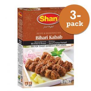 Bihari Kebab 3x50g Shan