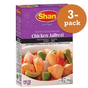 Chicken Jalfrezi 3x50g Shan