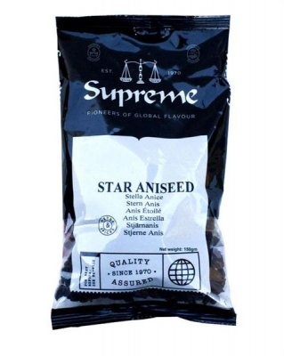 Anisfrö Stjärna 10x150g Supreme