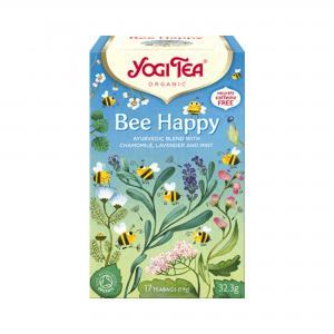 Bee Happy KRAV 2x17påsar Yogi Tea