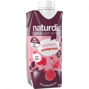 Smoothie Pomegranate Rasberry 12x330ml Naturdiet