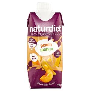 Smoothie Peach Mango 12x330ml Naturdiet