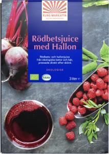 Juice Rödbeta & Hallon KRAV 3liter Kung Markatta