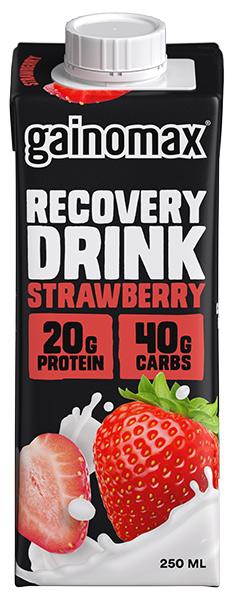 Recovery Strawberry 16x250ml Gainomax