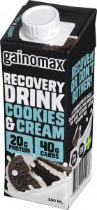 Recovery Cookies & Cream 16x250ml Gainomax