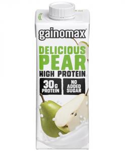 Proteindryck High Protein Delicious Pear 16x250ml Gainomax