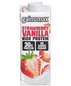 Proteindryck High Protein Strawberry Vanilla 16x250ml Gainomax