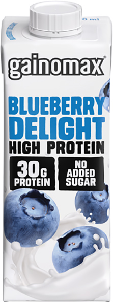Proteindryck High Protein Blueberry Delight 16x250ml Gainomax