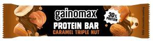 Protein Bar Caramel Triple Nut 15x60g Gainomax