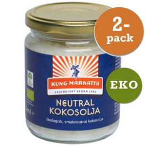 Kokosolja Neutral 2x216ml Eko Kung Markatta