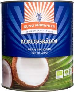 Kokosgrädde 1x3Liter EKO Kung Markatta