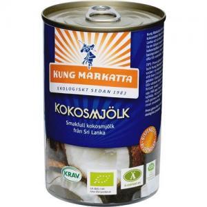 Kokosmjölk 12x400ml Eko Kung Markatta