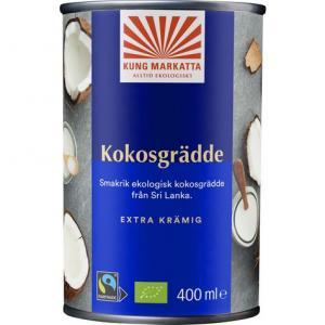 Kokosgrädde 12x400ml Eko Kung Markatta