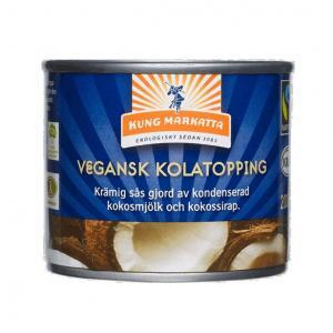 Kolatopping Vegansk 2x200ml Kung Markatta