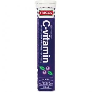 C-vitamin Blåbär 12x20tabletter FRIGGS