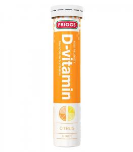 D-Vitamin Citrus 12x20tabletter FRIGGS