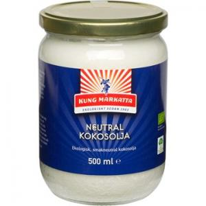 Kokosolja Neutral 6x500ml Eko Kung Markatta