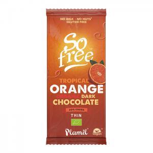 Mörk Choklad So Free Tropical Eko 12x80g Plamil