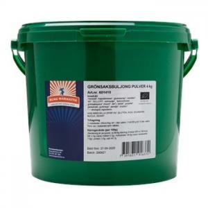 Grönsaksbuljongpulver 4kg Eko Kung Markatta