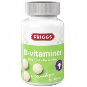 Kostillskott B-Vitaminer 6x150tabletter FRIGGS