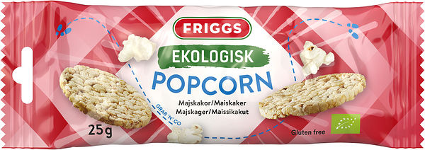 Snackpack Popcorn 26x25g Eko FRIGGS