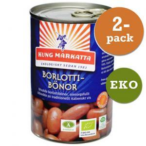 Borlottibönor 2x400g Eko Kung Markatta