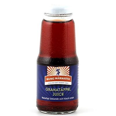 Granatäppeljuice EKO 12x200ml Kung Markatta