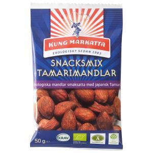 Snacksmix Tamarimandlar EKO 10x50g Kung Markatta