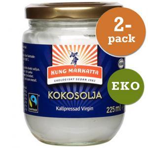 Kokosolja Virgin 2x225ml Eko Kung Markatta