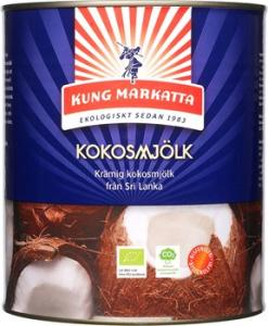 Kokosmjölk 3x3l Eko Kung Markatta