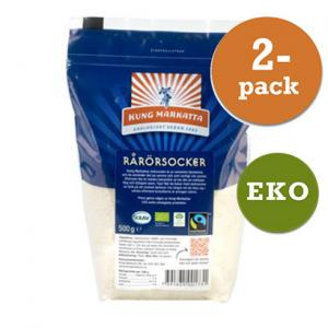 Rårörsocker 2x500g Fair Trade Kung Markatta