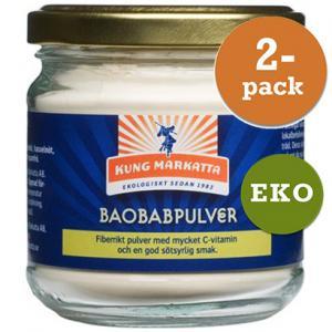 Baobabpulver 2x75g Eko Kung Markatta