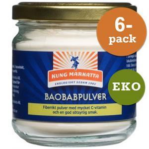 Baobabpulver 6x75g Eko Kung Markatta