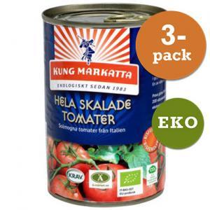 Tomater Hela Skalade 3x400g EKO Kung Markatta