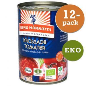 Tomater Krossade 12x400g EKO Kung Markatta