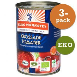 Tomater Krossade 3x400g EKO Kung Markatta