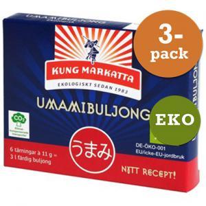 Umamibuljongtärning 3x6st Eko Kung Markatta